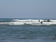SURF LESSON AT PLATANITOS